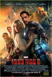 Международный постер «Железный человек 3»