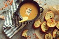 Блюда в пост: чесночный суп из чечевицы