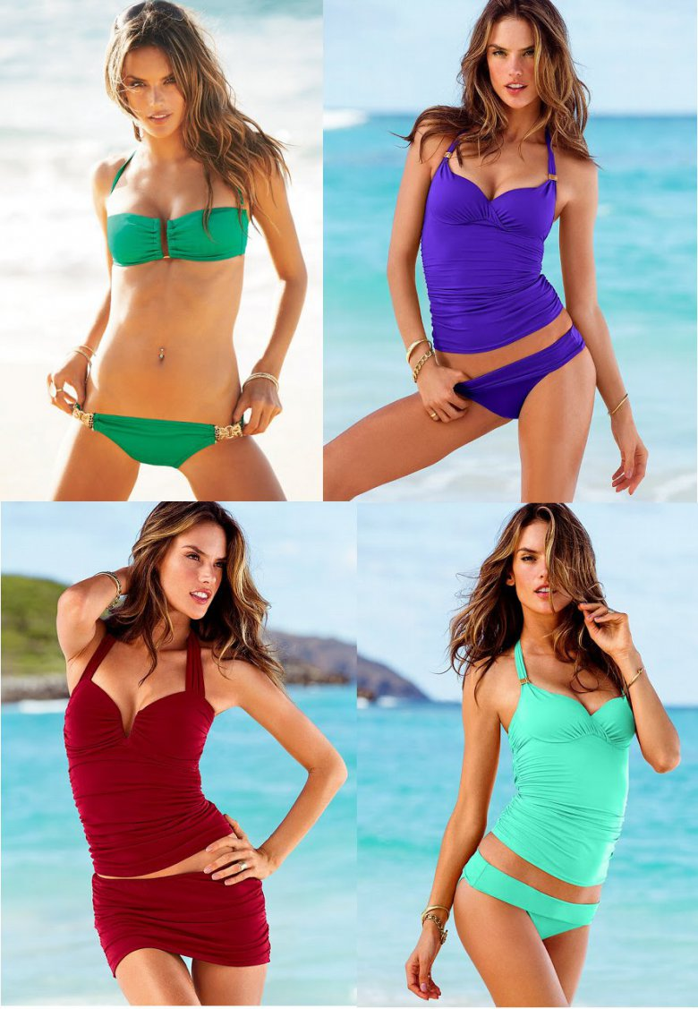 Алессандра Амбросио для Victoria`s Secret: март 2013