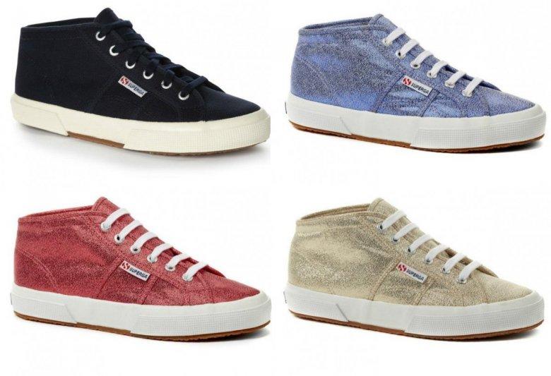 Коллекция спортивной обуви Superga