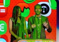 Сандра Баллок и Нил Патрик Харрис на Кids Choice Awards 2013