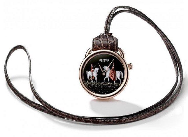 Новая коллекция карманных часов Arceau от Hermès
