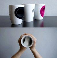 Hug Cup: фарфоровая чашка-обнимашка от Eszter Imre