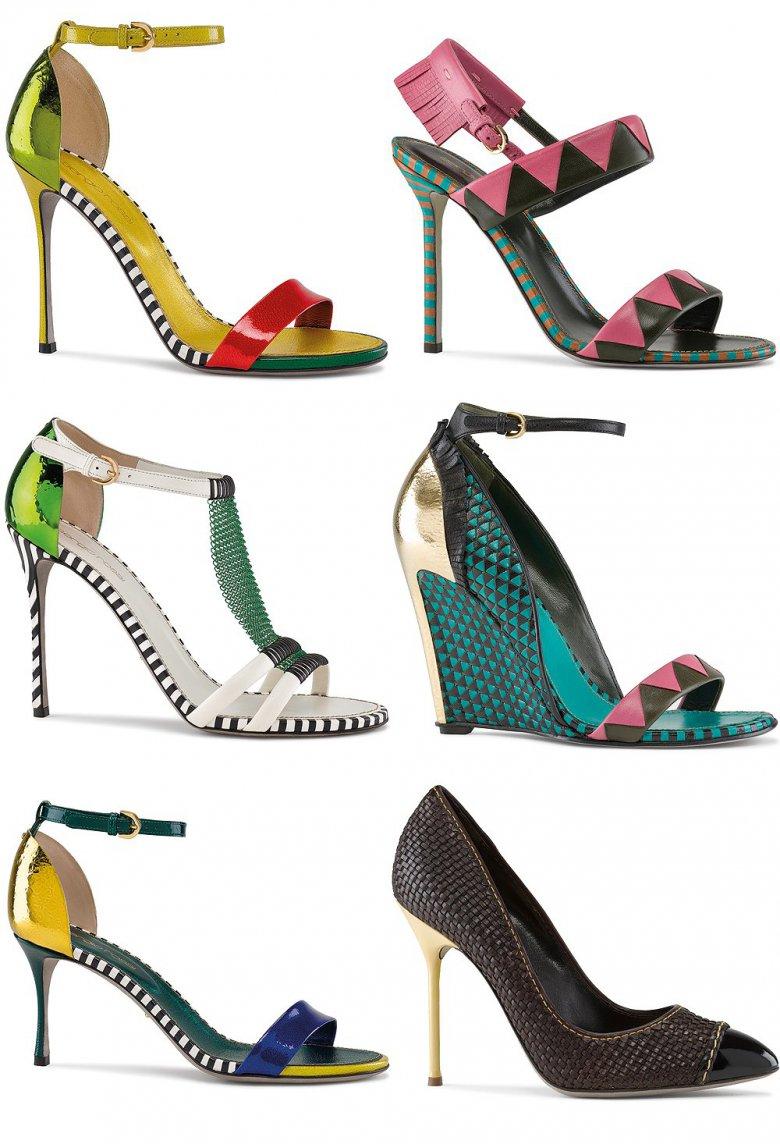 Коллекция обуви Sergio Rossi весна-2013