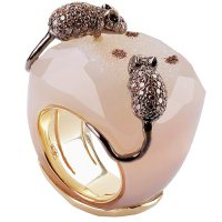 Кольцо с мышками от Golconda Privee