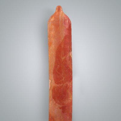 Презервативы со вкусом бекона