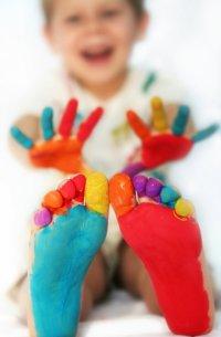 Съедобные краски для детей