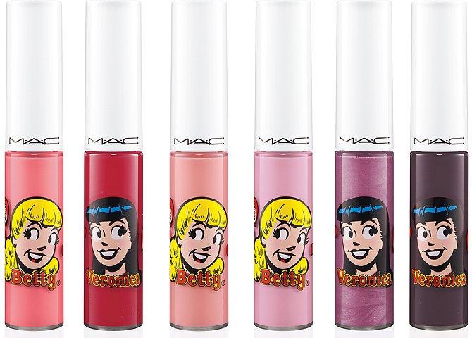 Макияж в стиле комикса «Archie`s Girls»