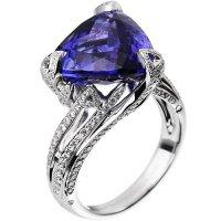 Бриллиантовое кольцо от Akillis из серии Cruella