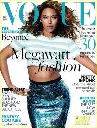 Бейонсе на обложке British Vogue (май 2013)