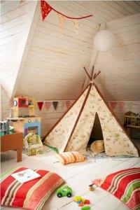 Идея оформления детской комнаты для мальчика