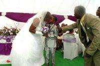 53 года разницы не помешали свадьбе