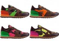 Лимитированная коллекция кроссовок Valentino Rockrunner