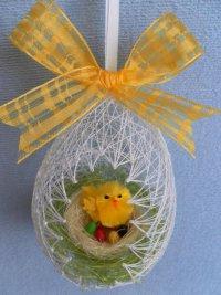Интересные декоративные пасхальные яйца