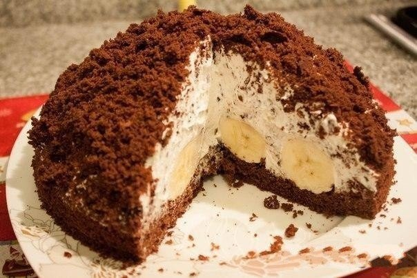 Торт «Нора крота»