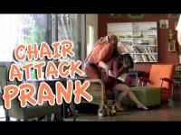 «Живое» кресло атакует
