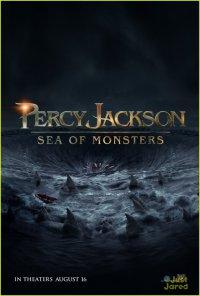 Фанатский тизер-постер фильма «Перси Джексон: Море чудовищ»