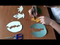 Видеоурок поделки «Цыпленок» для детей