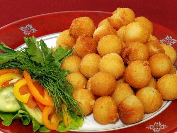 Картофельные шарики на гарнир