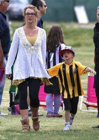 Бритни Спирс с сыном Джейденом