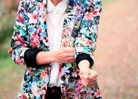 Цветочный пиджак