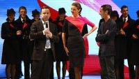Миранда Керр представила новую униформу Qantas
