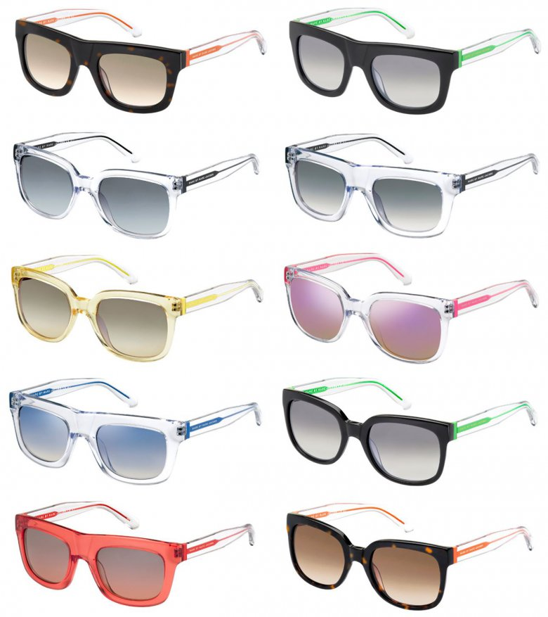 Новая коллекция солнцезащитных очков Marc by Marc Jacobs