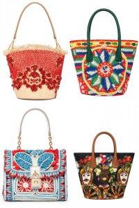 Летние сумки от Dolce&Gabbana 2013