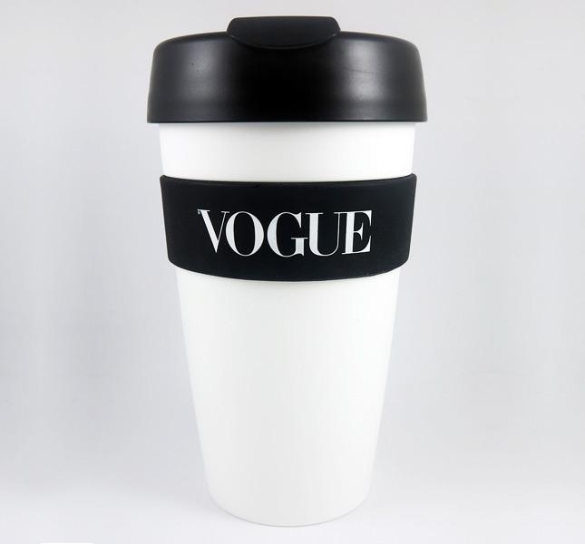 Гламурный стакан для кофе от Vogue