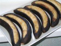 Запеченные в кожуре бананы
