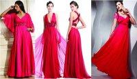 Яркие платья в греческом стиле на выпускной