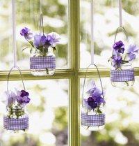 Идея украшения окна на Пасху