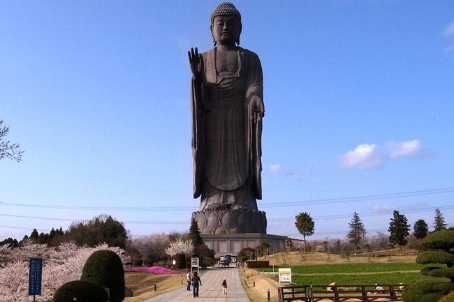 Самые высокие статуи мира: Усику Дайбуцу