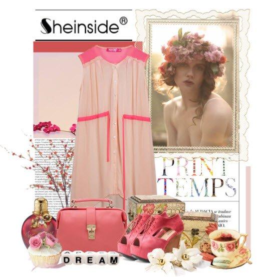 С чем носить розовые босоножки и туфли?