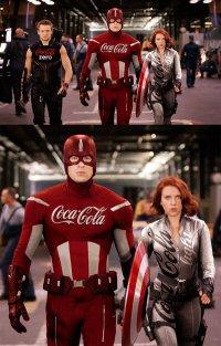Наши любимые супергерои нашли спонсоров
