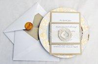 Приглашения на свадьбу с печатью