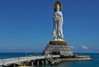 Самые высокие статуи мира: статуя Гуаньинь в Санья