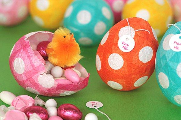 Пасхальные яйца с сюрпризом