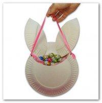Пасхальная сумка-кролик