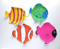 Проект поделок с ребенком: рыбки