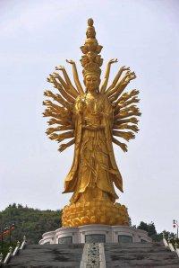 Самые высокие статуи мира: статуя Гуаньинь в Чанше