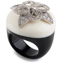 Кольцо Miriam Salat из серебра и смолы