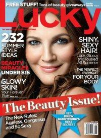 Советы красоты от Дрю Берримор: Lucky Magazine май 2013