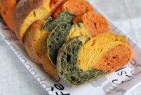 Трехцветный домашний хлеб