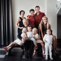 Как сделать красивый семейный портрет