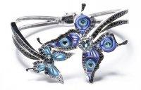 Браслет с бабочками Lalique