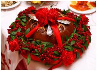 Свадебные традиции: каравай