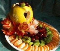 Фруктовая тарелка: красиво подаем фрукты