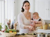 Питание кормящей матери по месяцам: 1 месяц