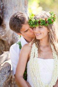 Необычные места для бракосочетания: Гавайи